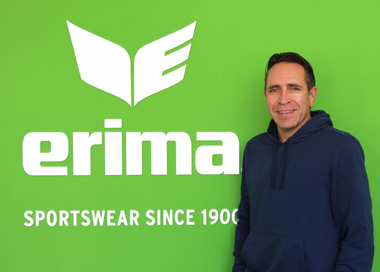 ERIMA Team: Daniel Kraus wird neuer Leiter des Verkaufs Deutschland