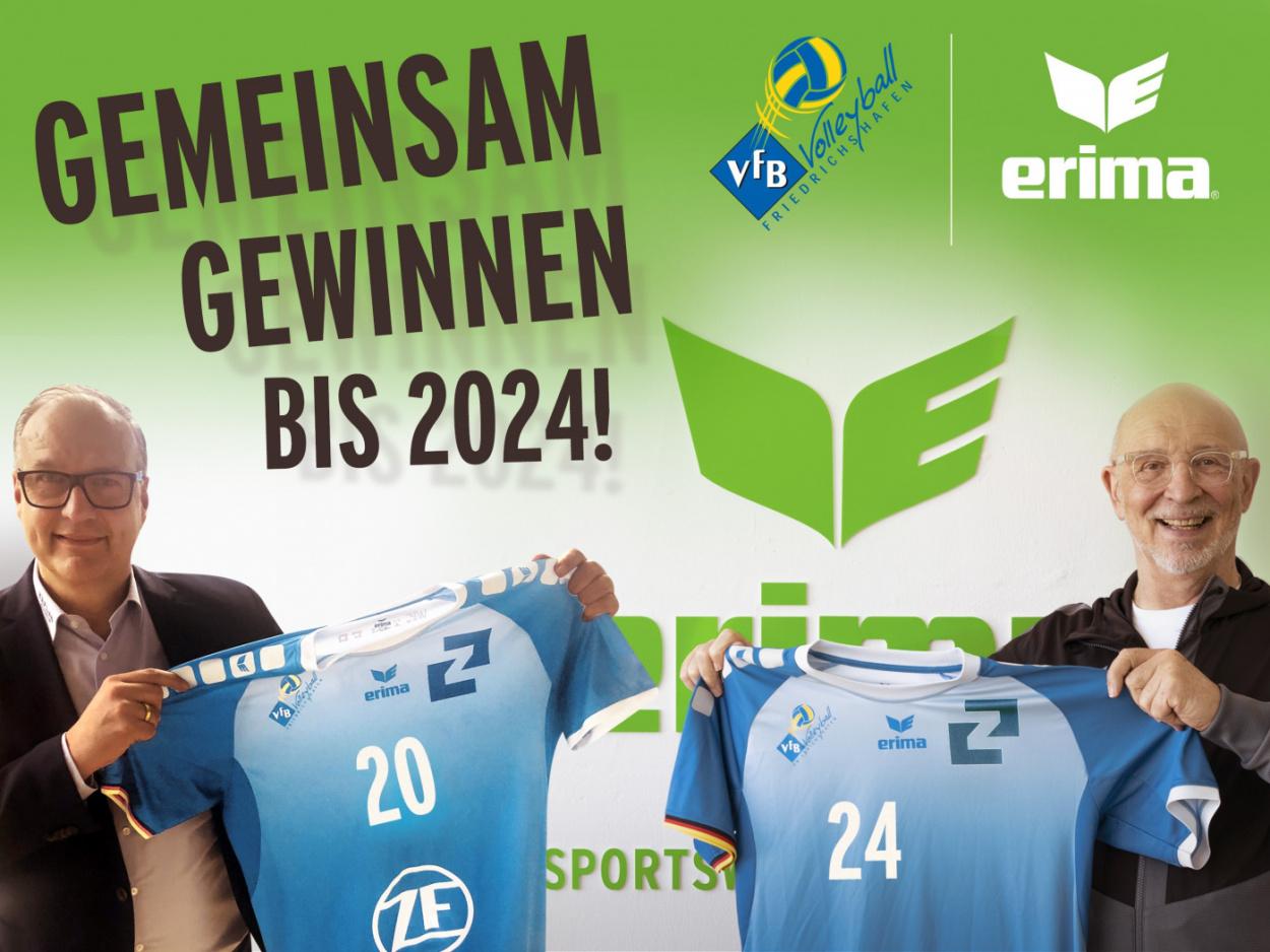 ERIMA und der VfB Friedrichshafen gehen auch in Zukunft gemeinsame Wege