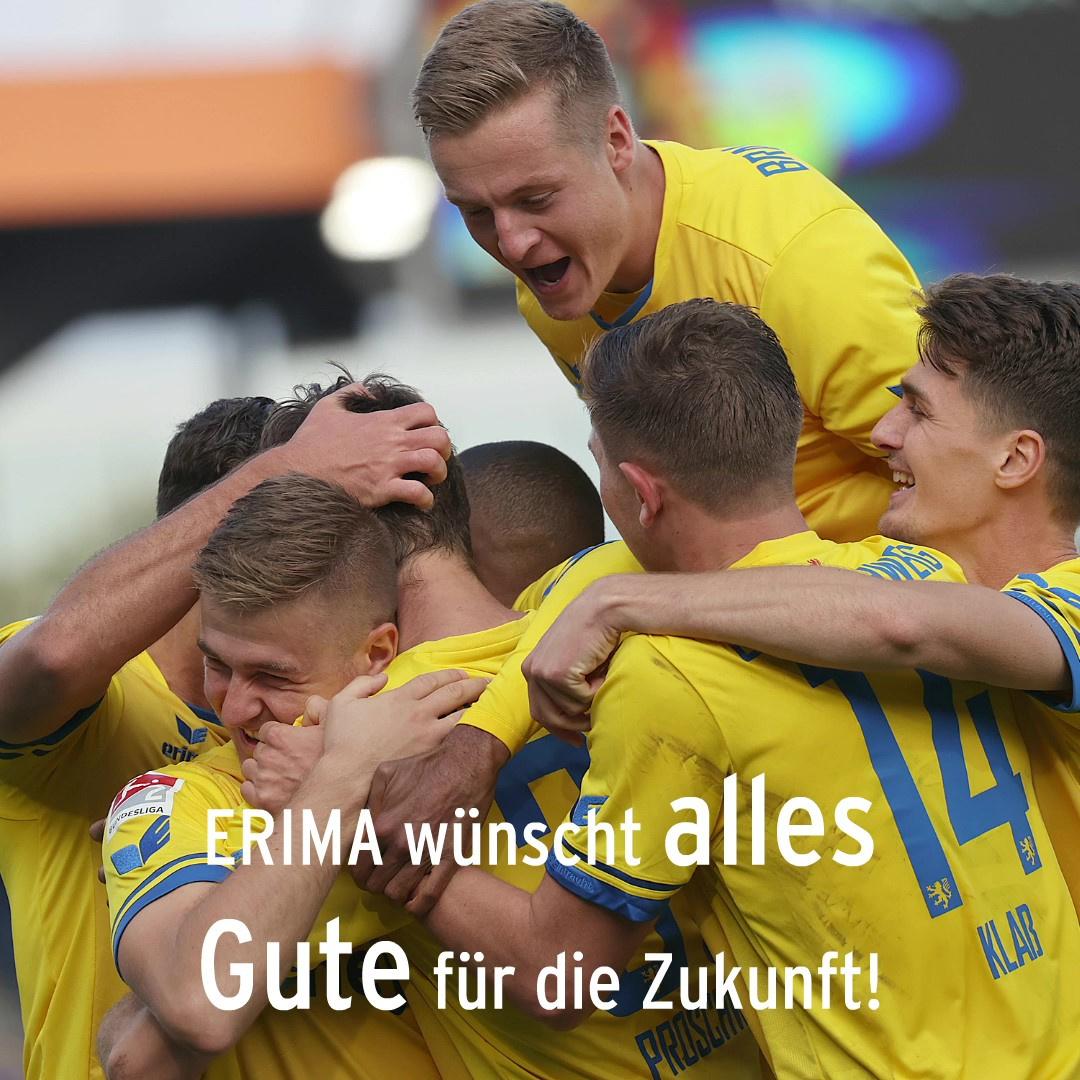 ERIMA und Eintracht Braunschweig beenden Partnerschaft zum Saisonende