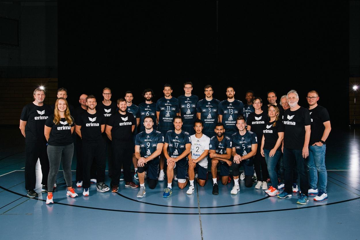 Neues Volleyballengagement: Der Herren-Bundesligist SWD powervolleys Düren setzt ab sofort auf ERIMA