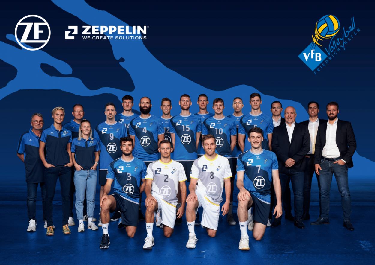 ERIMA und VfB Friedrichshafen starten mit neuen Trikots in eine weitere gemeinsame Saison