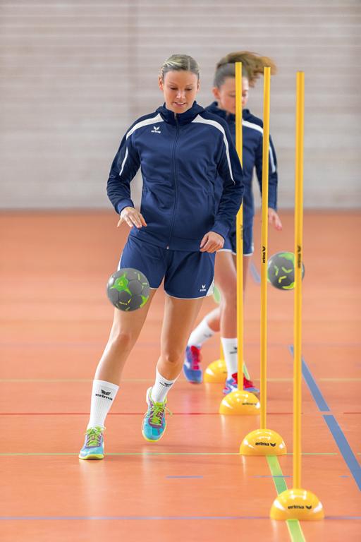 Koordinationstraining für das Handball-Training