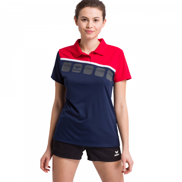 Damen 5-C Poloshirt