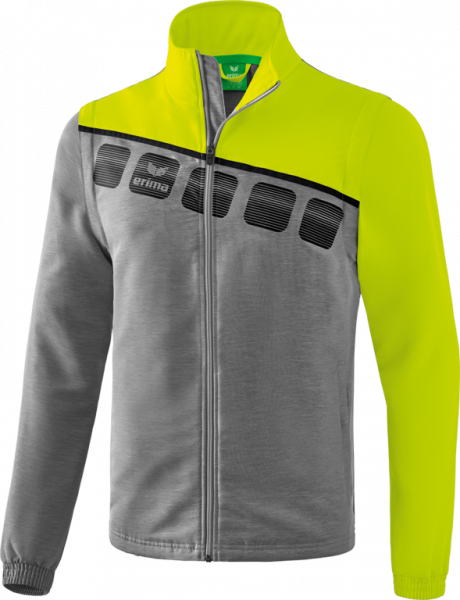 Unisex 5-C Jacke mit abnehmbaren Ärmeln