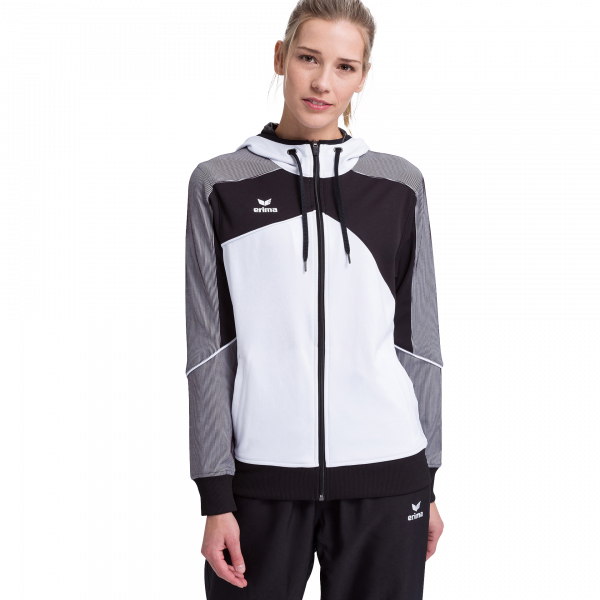 Damen Premium One 2.0 Trainingsjacke mit Kapuze
