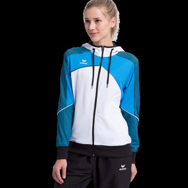 Damen Premium One 2.0 Trainingsjacke mit Kapuze