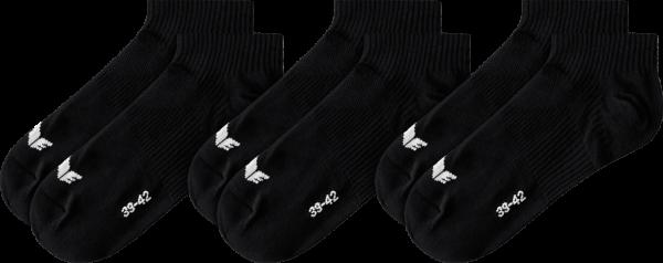 Unisex 3-Pack Füßlinge