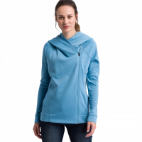 Damen Essential Kapuzensweatjacke